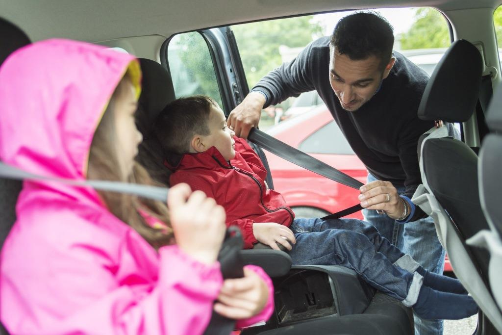 Preventing kids in car accidents