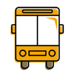 Bus-related motor vehicle accident